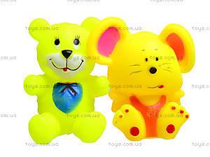 Детские пищалки «Животные», 5 штук, 385-4, купить