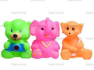 Детские пищалки «Животные», 5 штук, 385-4, фото