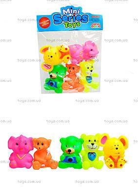 Детские пищалки «Животные», 5 штук, 385-4