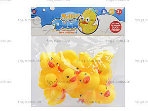 Веселое купание с пищалками - уточками, 3656, игрушки