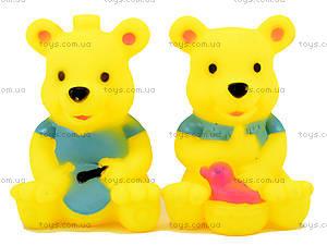 Виниловые пищалки «Звери», 9305, детские игрушки