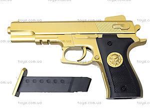 Детский пистолет на пульках Gold, 0126-1, купить