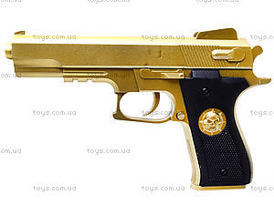 Детский пистолет на пульках Gold, 0126-1, цена