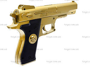 Детский пистолет на пульках Gold, 0126-1, игрушки