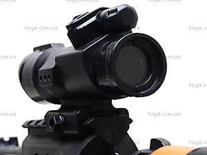 Игрушечный пистолет с глушителем, 0275A, купить