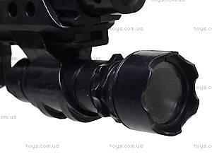 Игрушечный пистолет с глушителем, 0275A, игрушки