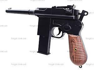 Пистолет с пульками, утяжеленный, 098A, купить