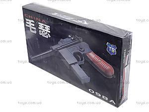 Пистолет с пульками, утяжеленный, 098A, фото