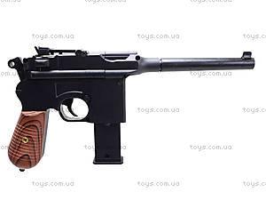 Пистолет с пульками, утяжеленный, 098A, цена