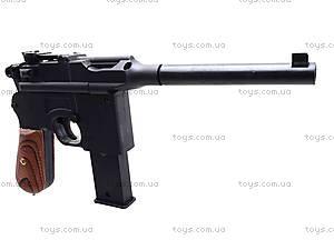 Пистолет с пульками, утяжеленный, 098A, детские игрушки