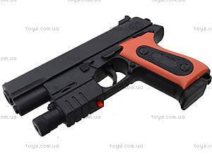 Детский игрушечный пистолет с лазерным прицелом, 238B, фото