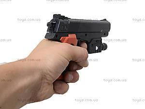 Детский игрушечный пистолет с лазерным прицелом, 238B, toys