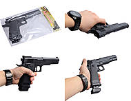 Игрушечный пистолет «Арсенал» с пульками, 2570, купить