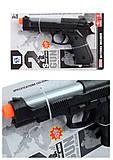 Пистолет со светом, звуком, 3 цвета, HSY-072, фото