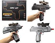 Пистолет с гелевыми пульками с аккумулятором, 6801, фото