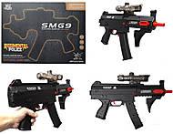 Пистолет с гелиевыми пульками и мишенью, 6803