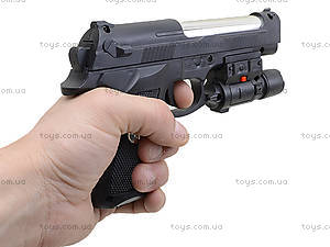 Пистолет с лазерным прицелом, для детей, 730-2, детские игрушки