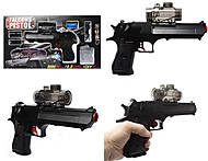Пистолет с прицелом на гелиевых пульках, 786, фото