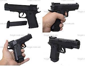 Игровой пистолет на пульках, детский, 83