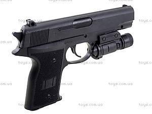 Игрушечный пистолет с пульками и подсветкой, AV366D, купить