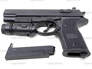 Игрушечный пистолет с пульками и подсветкой, AV366D, фото