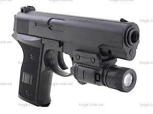 Игрушечный пистолет с пульками и подсветкой, AV366D, игрушки