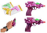Пистолет на батарейках, 4 вида микс, 3188, фото