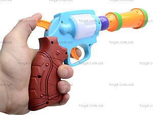 Игрушечный пистолет с музыкой, XC389, фото