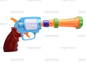 Игрушечный пистолет с музыкой, XC389, отзывы