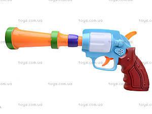 Игрушечный пистолет с музыкой, XC389, детские игрушки