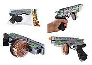 Пистолет + круглый барабан с эффектами, RF223C-1, фото