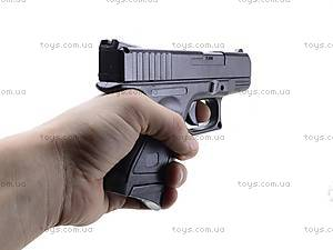 Утяжеленный пистолет CYMA с пульками, P.698, фото