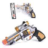 Пистолет детский с эффектами , АК968-1