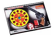 Пистолет EDISON Target Game 28см 8-зарядный с мишенью и пульками , ED-0485220