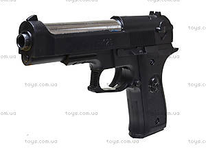Детский игрушечный пистолет с глушителем, F-129, игрушки