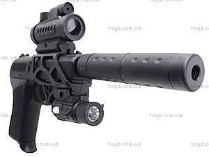 Утяжеленный пистолет с глушителем и прицелом, HK2023, отзывы