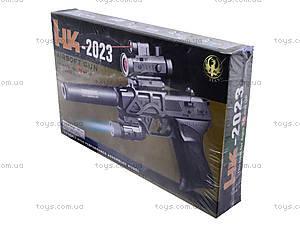 Утяжеленный пистолет с глушителем и прицелом, HK2023, цена