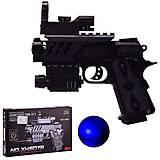 Пистолет игровой с лазером и светом 507B, 507B, фото