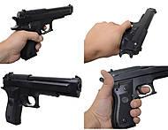 Игровой пистолет с пульками, для детей, M-263, фото