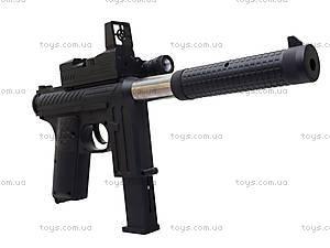 Игрушечный пистолет с пульками и глушителем, M206, купить