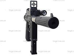 Игрушечный пистолет с пульками и глушителем, M206, фото