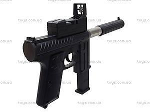 Игрушечный пистолет с пульками и глушителем, M206, отзывы