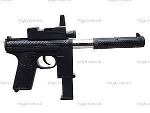 Игрушечный пистолет с пульками и глушителем, M206, игрушки