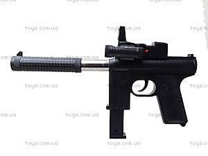 Игрушечный пистолет с пульками и глушителем, M206, детские игрушки