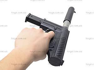 Детский пистолет с пульками и глушителем, M206A, фото