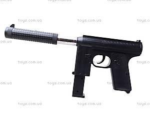 Детский пистолет с пульками и глушителем, M206A, цена