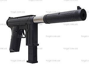 Детский пистолет с пульками и глушителем, M206A, магазин игрушек