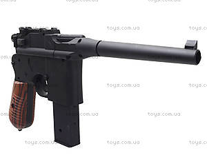 Утяжеленный пистолет с пульками, M32, игрушки