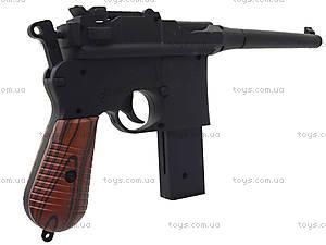 Утяжеленный пистолет с пульками, M32, детские игрушки