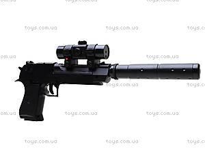 Игрушечный пистолет на пульках с глушителем, M93-3+, цена